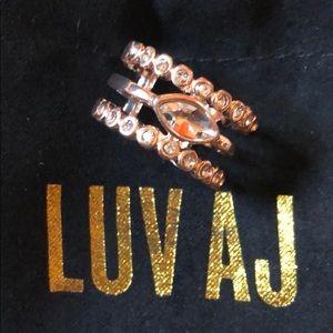 Luv Aj Jewelry - Brand New- Luv AJ Rose Gold Statement Ring